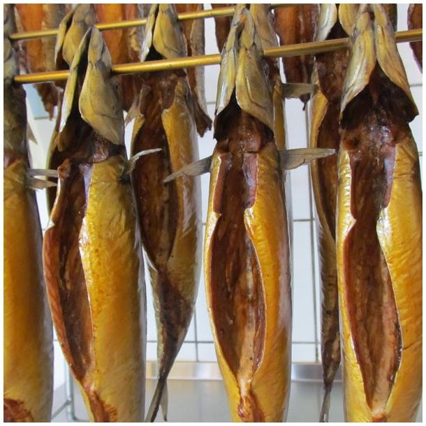 Røget makrelfilet